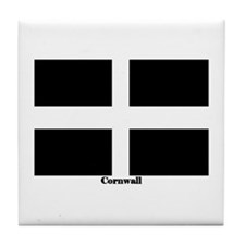 Cornwall Flag Tile Coaster