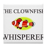 The Clownfish Whisperer Tile Coaster