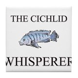The Cichlid Whisperer Tile Coaster