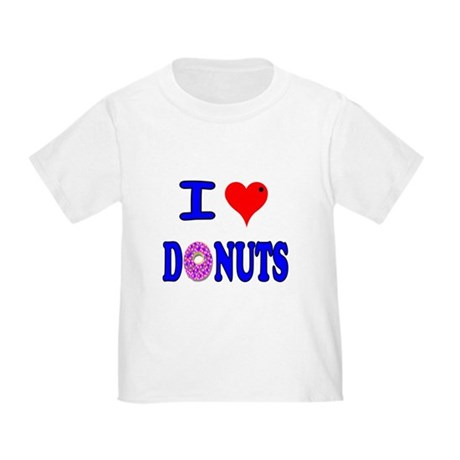 I love Donuts! Toddler T-Shirt