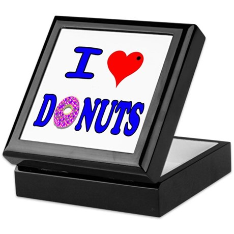 I love Donuts! Keepsake Box