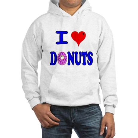 I love Donuts! Hooded Sweatshirt