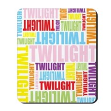 Twilight Color Mousepad