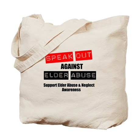 SpeakOut Against ElderAbuse Tote Bag