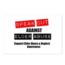 SpeakOut Against ElderAbuse Postcards (Package of