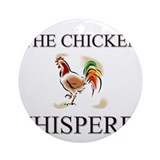The Chicken Whisperer Ornament (Round)