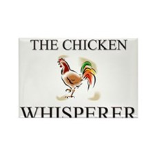 The Chicken Whisperer Rectangle Magnet (10 pack)