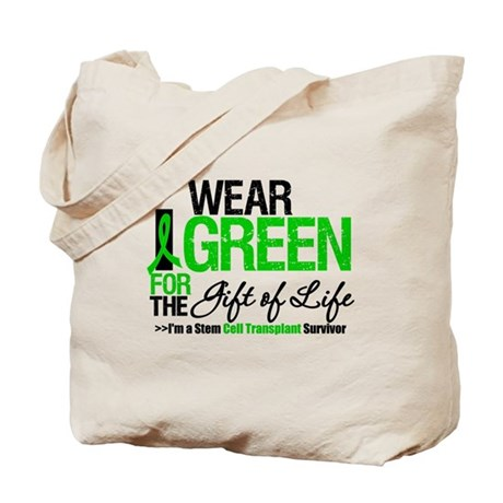 I Wear Green SCT Survivor Tote Bag