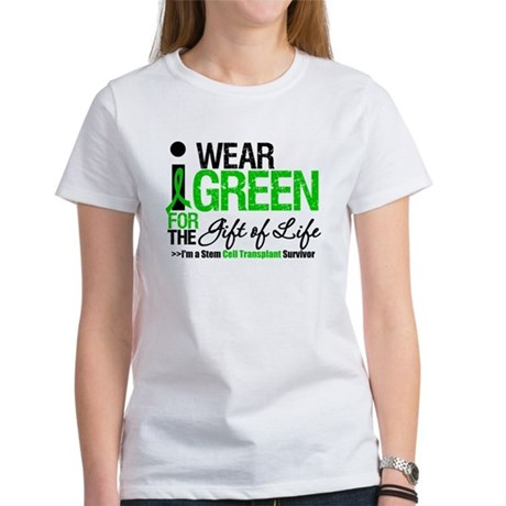I Wear Green SCT Survivor Women's T-Shirt