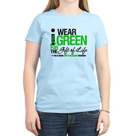I Wear Green SCT Survivor Women's Light T-Shirt
