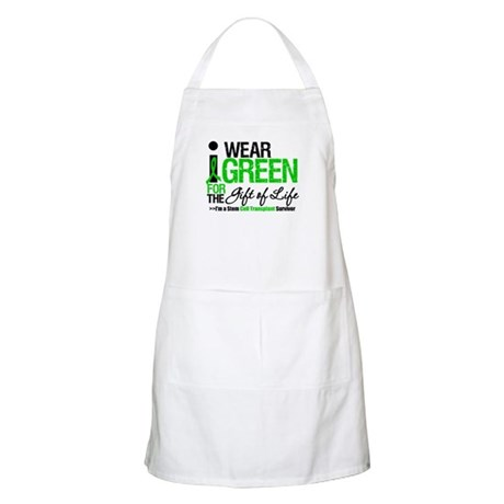I Wear Green SCT Survivor BBQ Apron