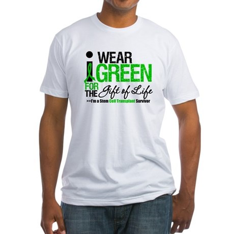 I Wear Green SCT Survivor Fitted T-Shirt