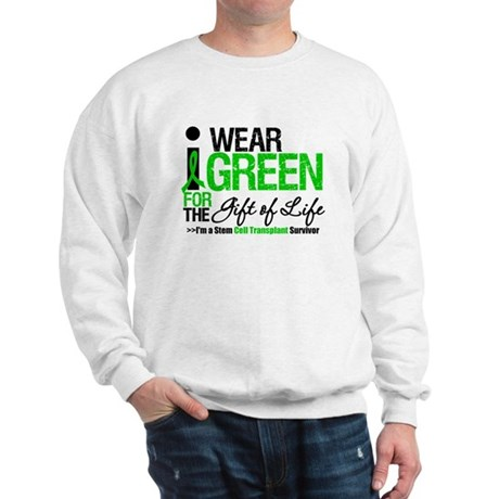 I Wear Green SCT Survivor Sweatshirt