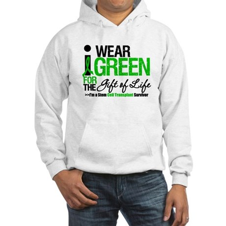 I Wear Green SCT Survivor Hooded Sweatshirt