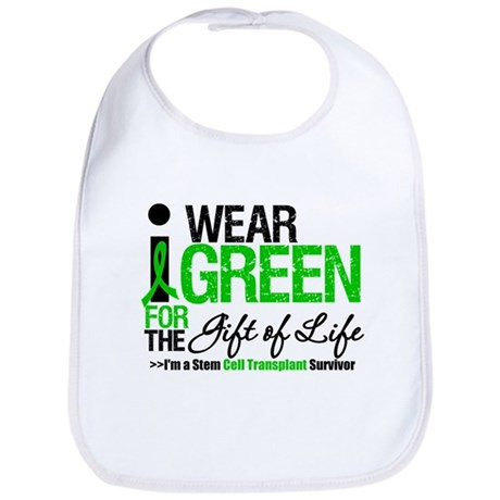 I Wear Green SCT Survivor Bib