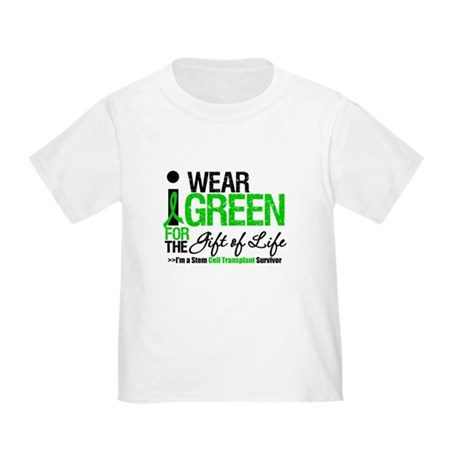 I Wear Green SCT Survivor Toddler T-Shirt