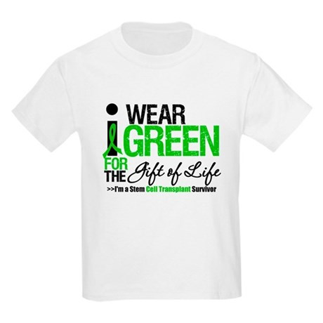 I Wear Green SCT Survivor Kids Light T-Shirt