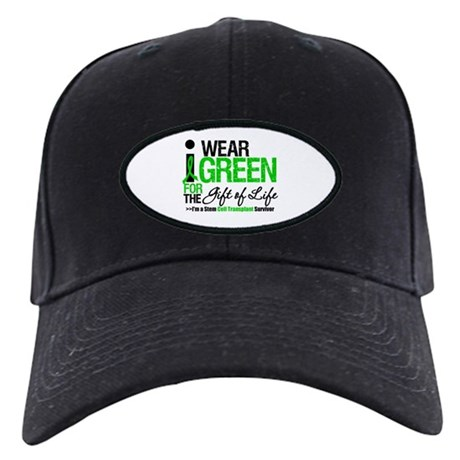 I Wear Green SCT Survivor Black Cap