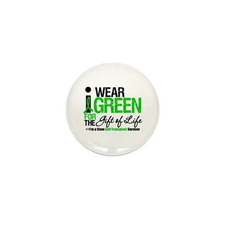 I Wear Green SCT Survivor Mini Button (10 pack)