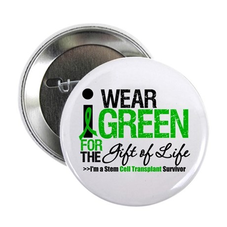 "I Wear Green SCT Survivor 2.25"" Button"
