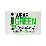 I Wear Green SCT Survivor Rectangle Magnet