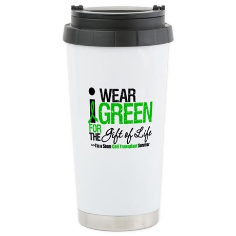 I Wear Green SCT Survivor Ceramic Travel Mug