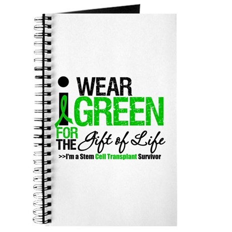 I Wear Green SCT Survivor Journal
