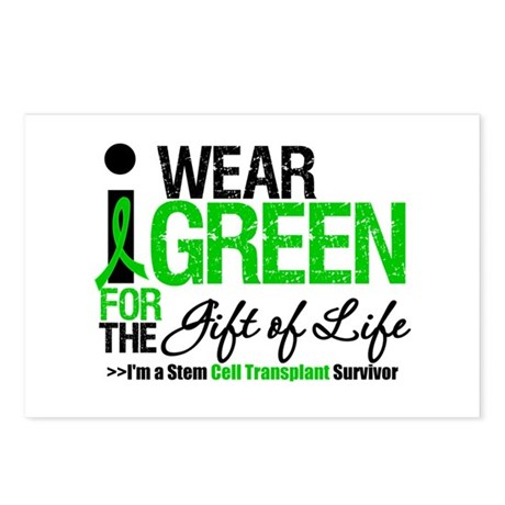 I Wear Green SCT Survivor Postcards (Package of 8)