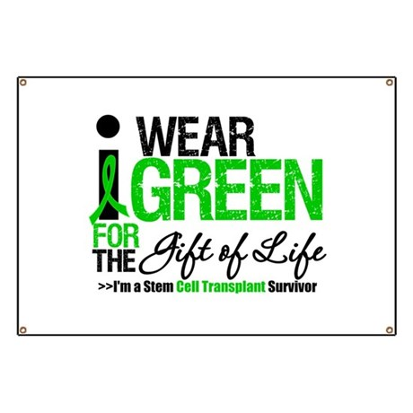 I Wear Green SCT Survivor Banner