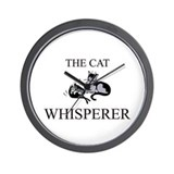 The Cat Whisperer Wall Clock