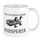 The Canadian Goose Whisperer Small Mugs