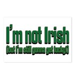 I'm Not Irish Postcards (Package of 8)