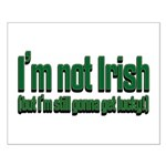 I'm Not Irish Small Poster