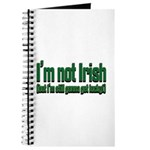I'm Not Irish Journal