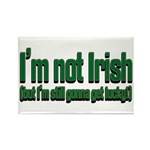 I'm Not Irish Rectangle Magnet (100 pack)