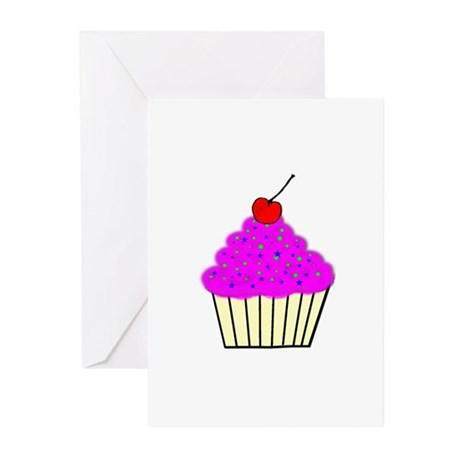 Cute Cupcakes! Greeting Cards (Pk of 10)