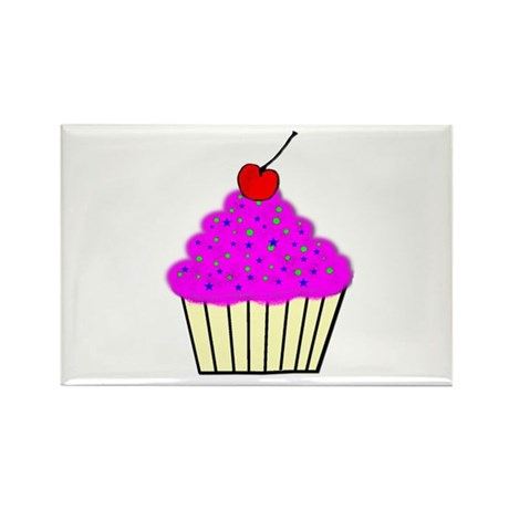 Cute Cupcakes! Rectangle Magnet (10 pack)