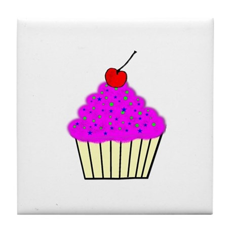 Cute Cupcakes! Tile Coaster