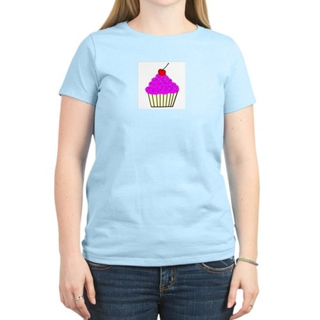 Cute Cupcakes! Women's Pink T-Shirt