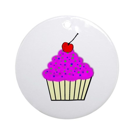 Cute Cupcakes! Ornament (Round)