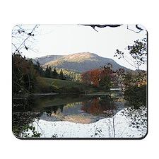 Mountain reflection Mousepad