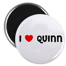 "I LOVE QUINN 2.25"" Magnet (100 pack)"