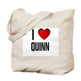 I LOVE QUINN Tote Bag