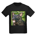 Canine Blessing Kids Dark T-Shirt