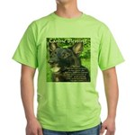 Canine Blessing Green T-Shirt