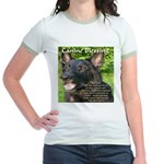 Canine Blessing Jr. Ringer T-Shirt