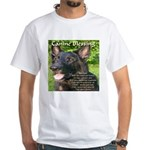 Canine Blessing White T-Shirt
