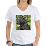 Canine Blessing Women's V-Neck T-Shirt