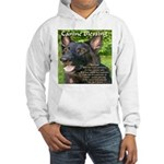 Canine Blessing Hooded Sweatshirt