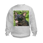 Canine Blessing Kids Sweatshirt